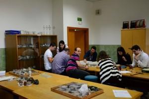Lab mineralogia